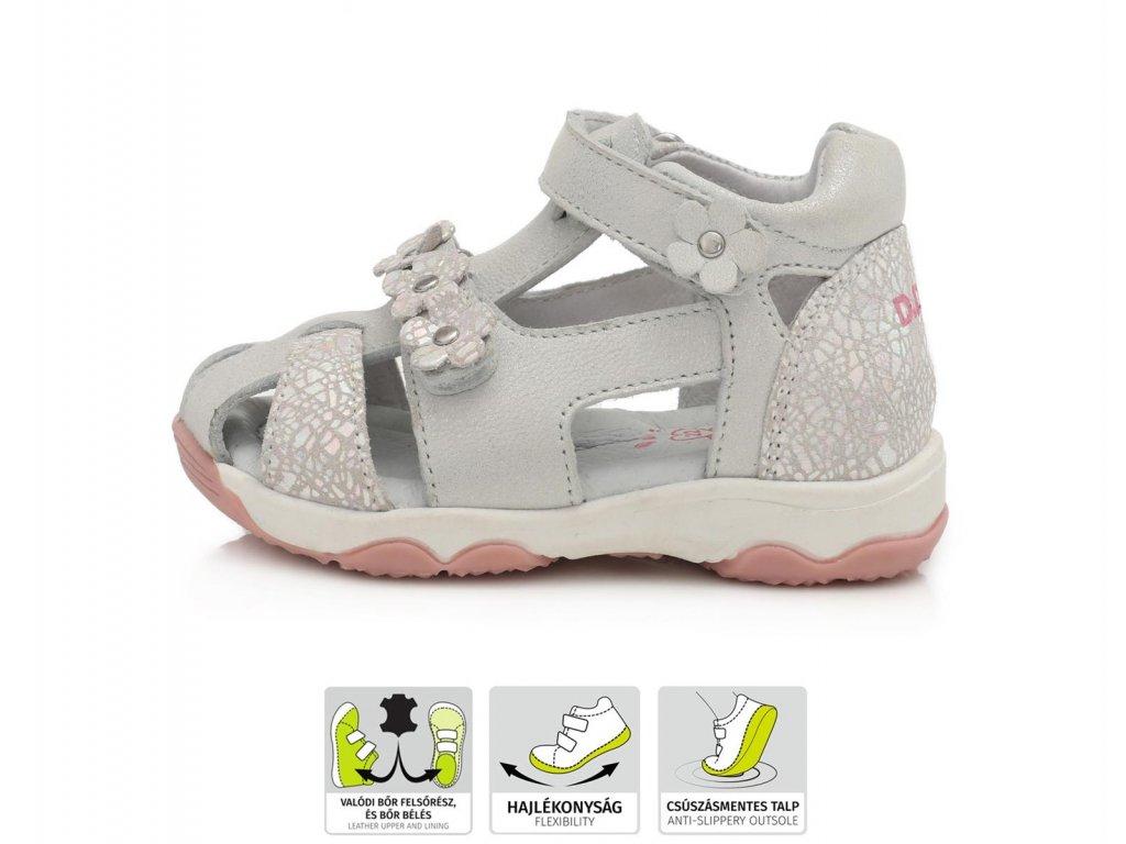 Dívčí letní sandálky DDStep (AC64-826C)
