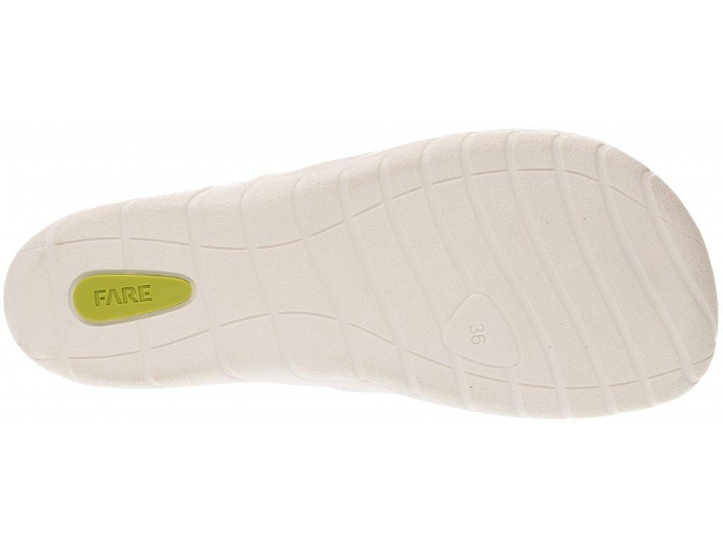 Fare bare plátěné tenisky modré (5211403)