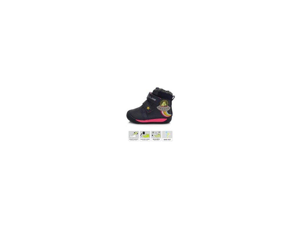 070-90 Zimní barefoot obuv DDStep