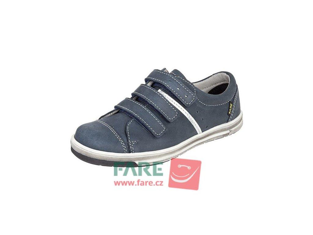 Fare celoroční kožená chlapecká obuv 2617105