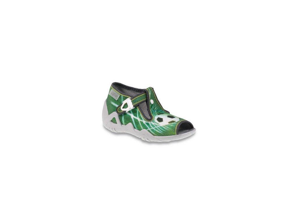 1632 1 217p093 18 det sandalek zelena fotbalovy mic