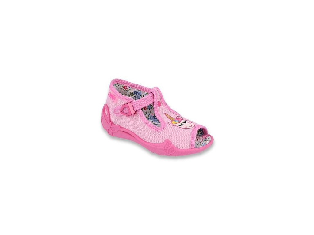 28454 1 213p115 18 divci sandalky ruzove jednorozec