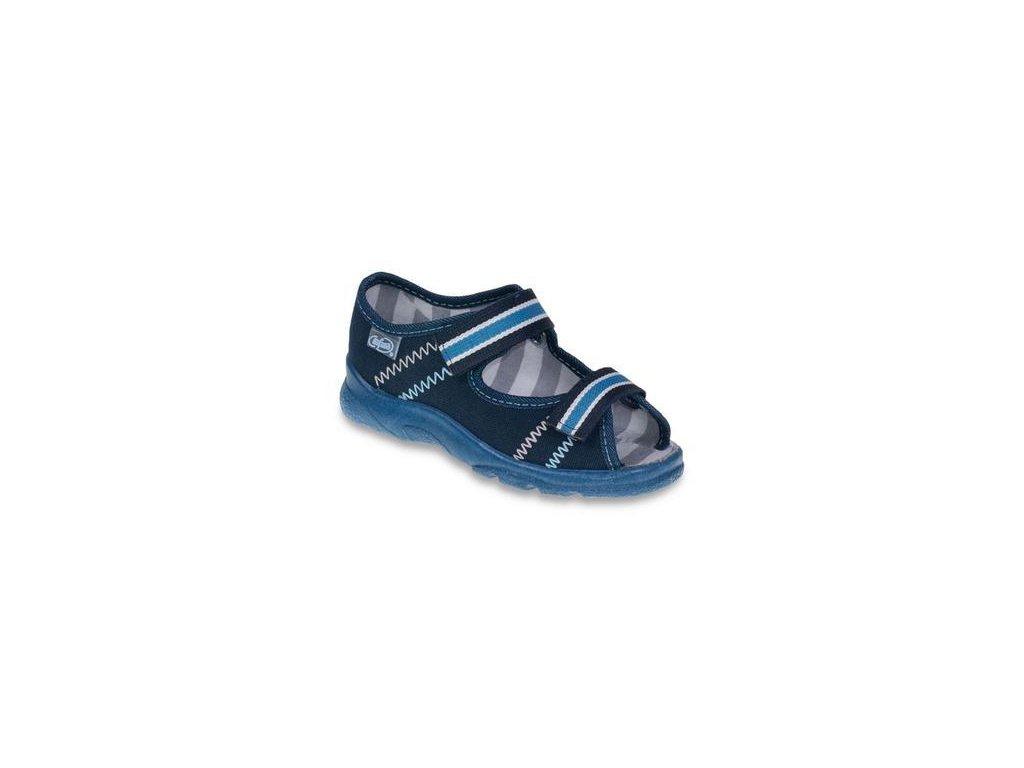 3545 1 969x101 26 chl sandalek s patou tm modra