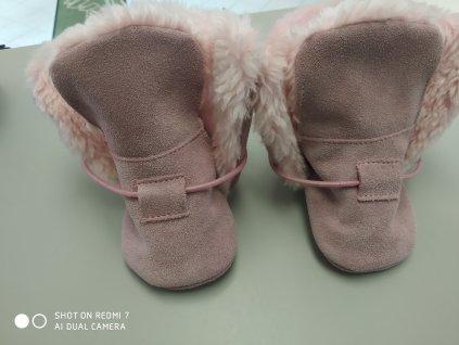 BaBice zimní capáčky Pink