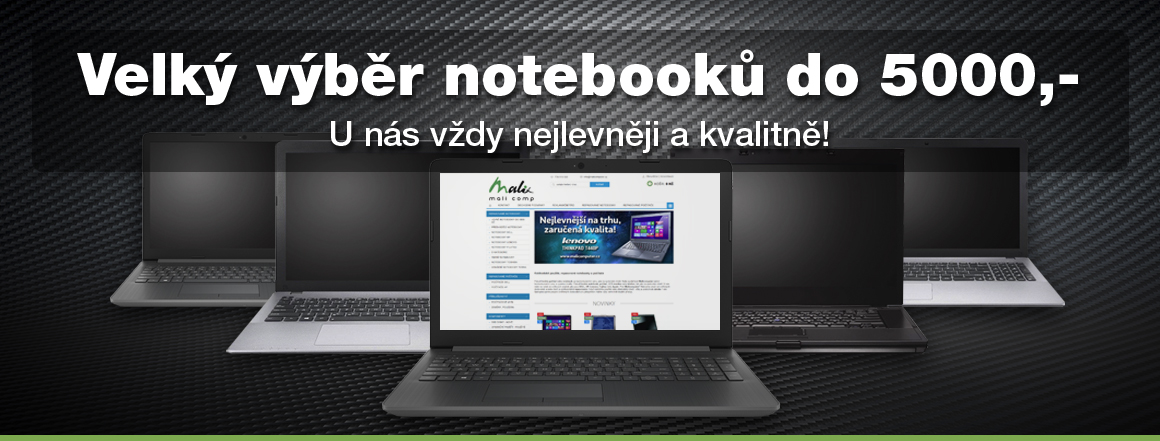 Notebooky do 5000,-