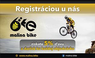 Registruj sa a získaj 5% zľavu!