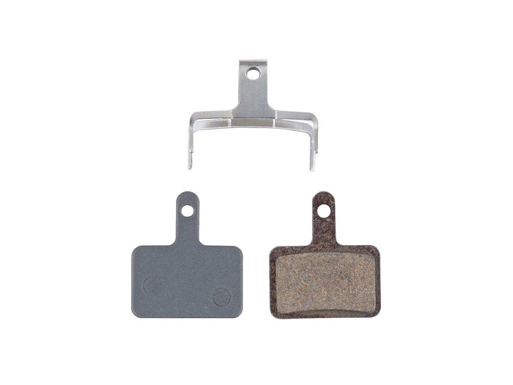 1684 brzdove dosticky pro t plus agr semi metallic na shimano mechanical hydraulic