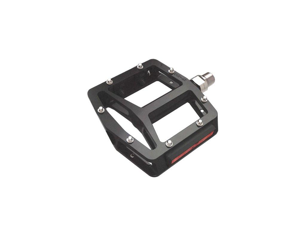 4081 pedal bmx pro t plus 203 dural loziskovy s vymenitelnymi hrotmi