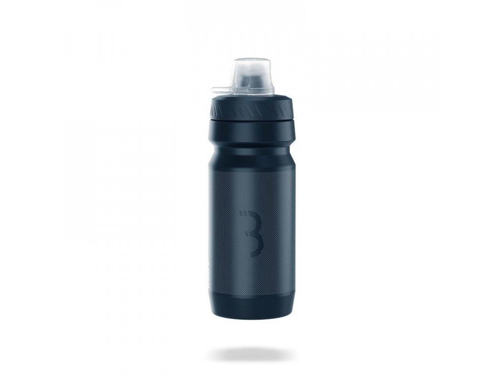 Cyklo fľaša BBB BWB-12 AUTOTANK MUDCAP AUTOCLOSE 550ml čierna