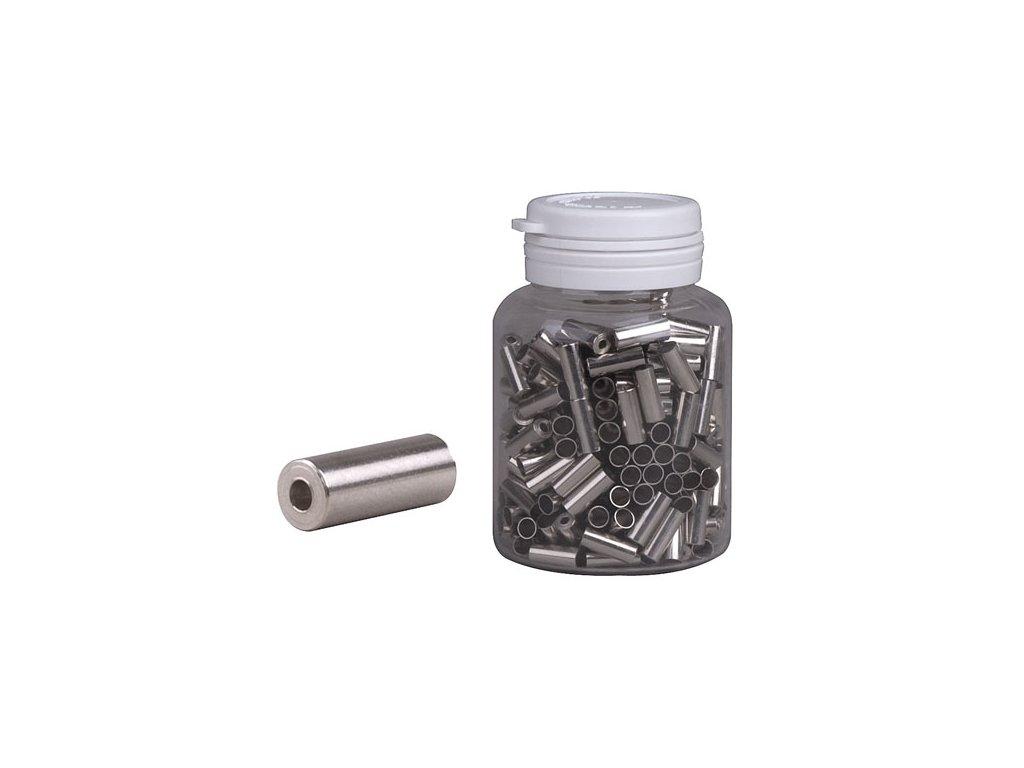 883 koncovka bowdenu pro t 4 mm strieborna cnc flasa 250ks