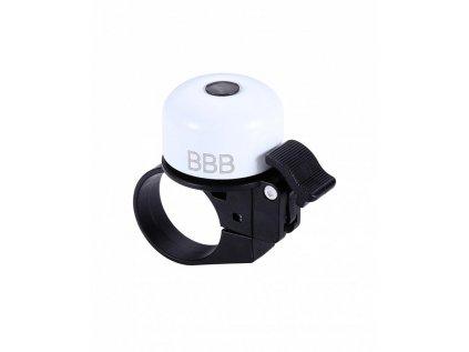 Zvonček na bicykel BBB BBB-11 LOUD & CLEAR extra silný s objímkou čierny