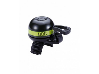 Zvonček na bicykel BBB BBB-14 EASYFIT DELUXE šedá
