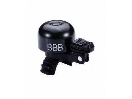 Zvonček na bicykel BBB BBB-15 LOUD & CLEAR DELUXE čierny
