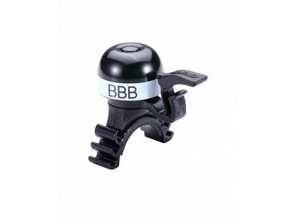 Mini zvonček na bicykel BBB BBB-16 MINIFIT s univerzálnym úchytom