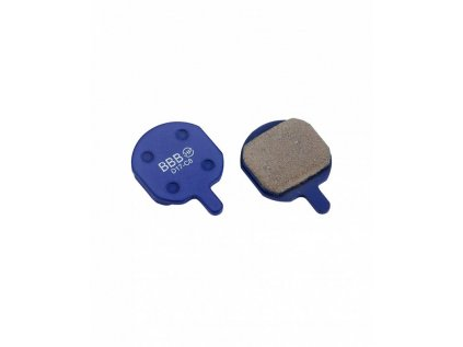 Brzdové platničky BBB BBS-48 DISCSTOP HP organic
