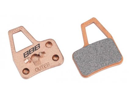 Brzdové platničky BBB BBS-49S DISCSTOP HP sintered