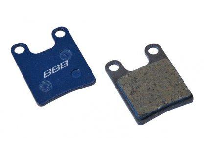 Brzdové platničky BBB BBS-60 DISCSTOP HP organic