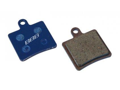 Brzdové platničky BBB BBS-61 DISCSTOP HP organic