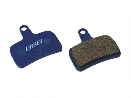 Brzdové platničky BBB BBS-64A DISCSTOP HP organic