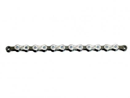 Reťaz BBB BCH-81 POWERLINE 8-speed 114 článkov,šedá/nikel