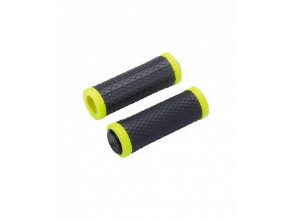 Gripy pre riadidlá MTB BBB BHG-98 VIPER čierna/neón žltá