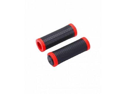 Gripy pre riadidlá MTB BBB BHG-98 VIPER čierna/červená