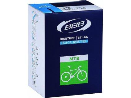 """Duša na horský bicykel BBB BTI-68 BIKETUBE MTB 27,5""""x2.8/3.0 FV48mm"""