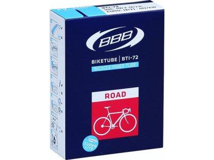 Duša na cestný bicykel BBB BTI-71 BIKETUBE ROAD 700x20/28C FV60mm