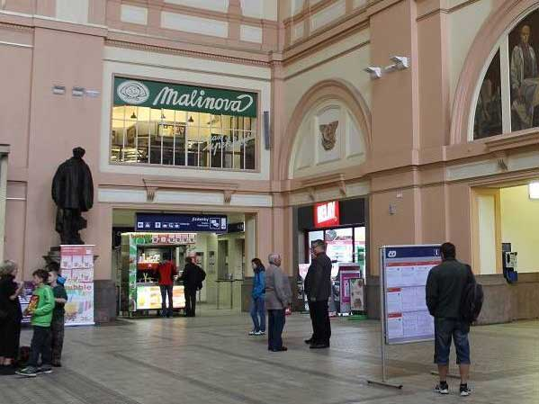 Plzeň - Hlavní nádraží ČD