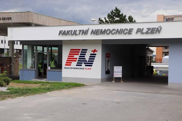 Plzeň - Fakultní nemocnice Lochotín, Vrátnice