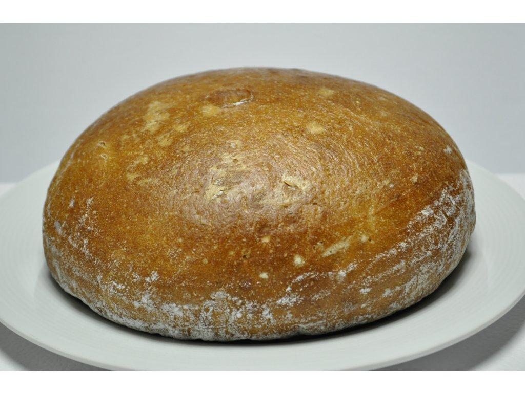 chléb kulatý                        750g