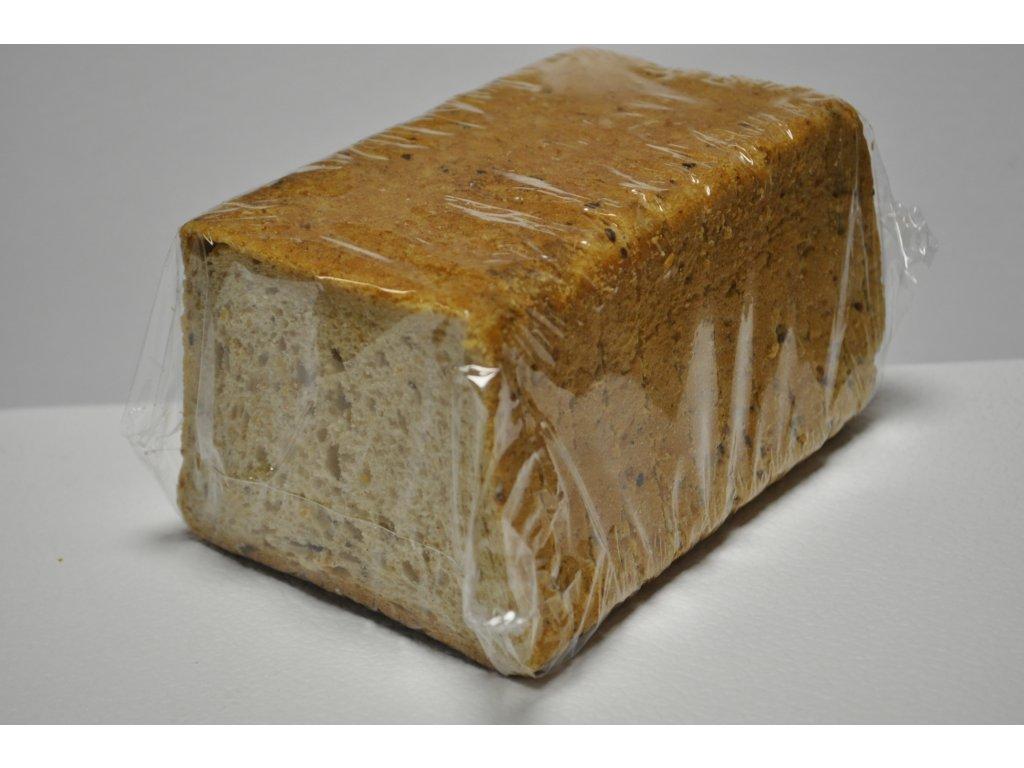 chléb toustový tmavý         250g