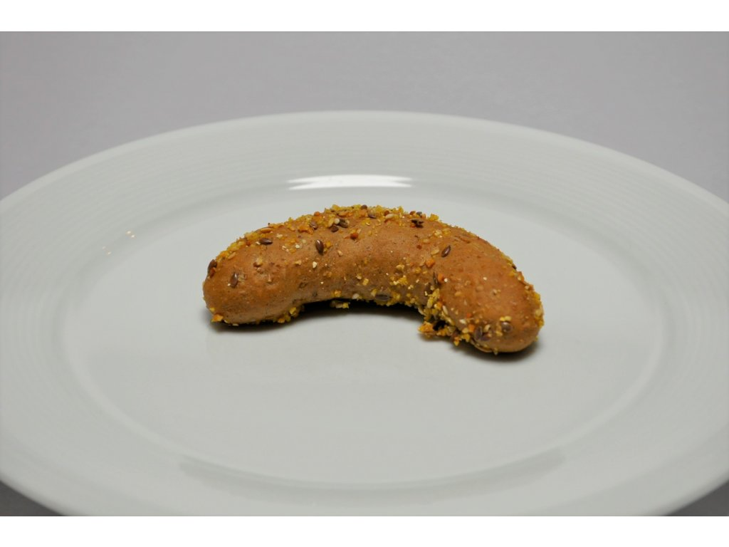 pečivo raut. vícezrn. rohlíček        15g