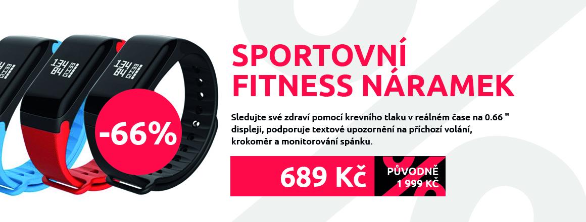 Sportovní fitness náramek