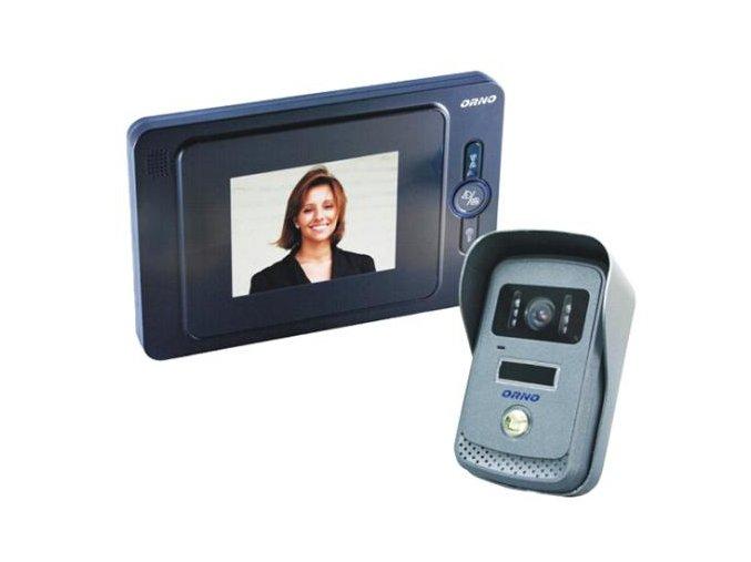 Domovní videotelefon ORNO - sada pro 1 účastníka