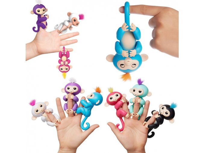 Pre sale Kids Gifts Smart Robot Toy Fingerlings Monkey Interactive Pet