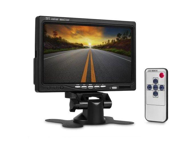 """LCD obrazovka 7"""" TFT do auta - 17,8cm"""