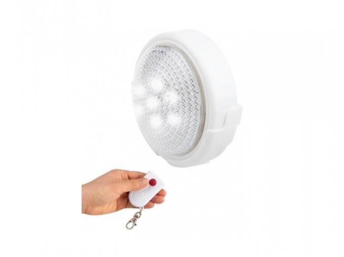 LED světlo na dálkové ovládání, 5 LED, 3X AA BATERIE