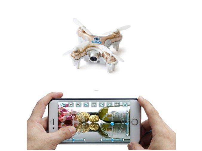 mini quadcopter with camera wifi mini drone fpv control by smartphone 42b5a2acdd793415f7607282b6a7e332