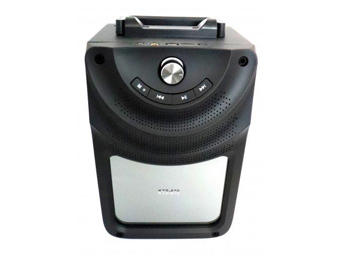 Nabíjecí přenosný reproduktor (Rádio, Bluetooth, USB, MicroSD) (300 mm x 180 mm x 200 mm)