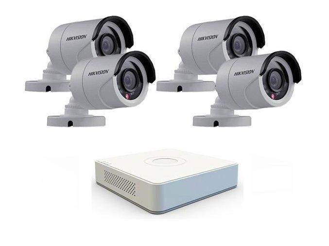 Sada záznamového kamerového systému Hikvision turbo HD - 4 kamery