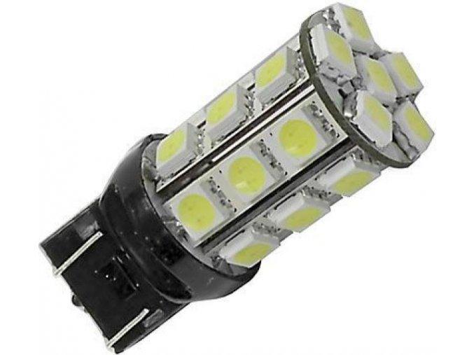 12V diodová autožárovka LED - červená LED K437