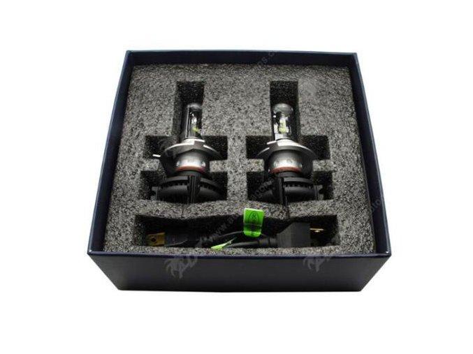 Set dvou výkonných LED autožárovek H4, 2x 50W  LED H4-2x 50W
