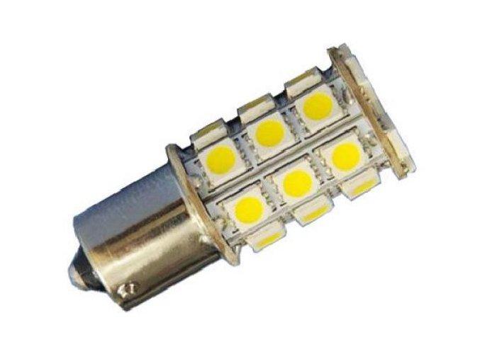 12V autožárovka LED, svit bílá  LED K580 bílá