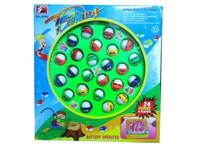 Hladové rybičky Mac Toys pro 5 osob - sada 24 ryb