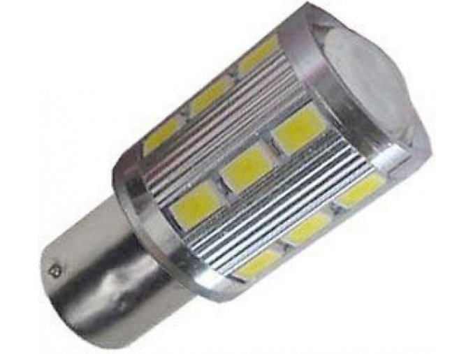 10-30V autožárovka LED, červená barva svitu, 5W, brzdová a obrysová světla  LED K515