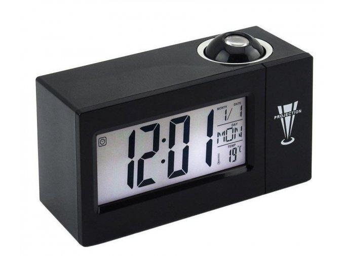 5988 4 inteligentni led hodiny cerna