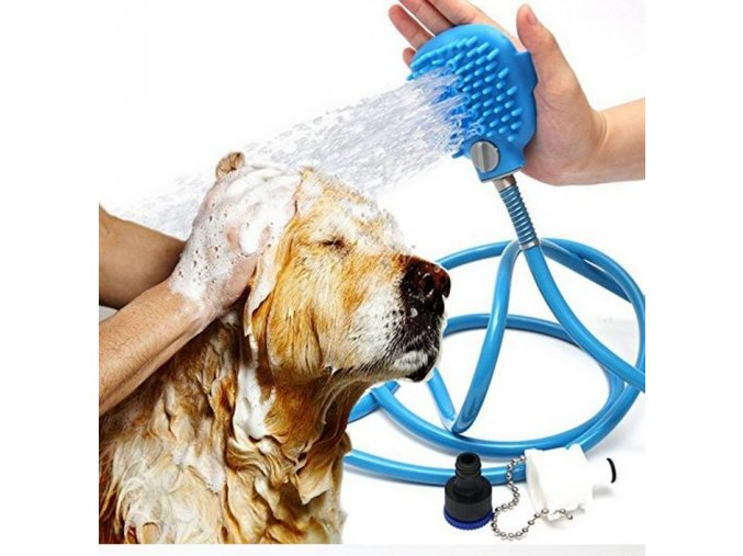 6384 rucni masazni sprcha pro psy