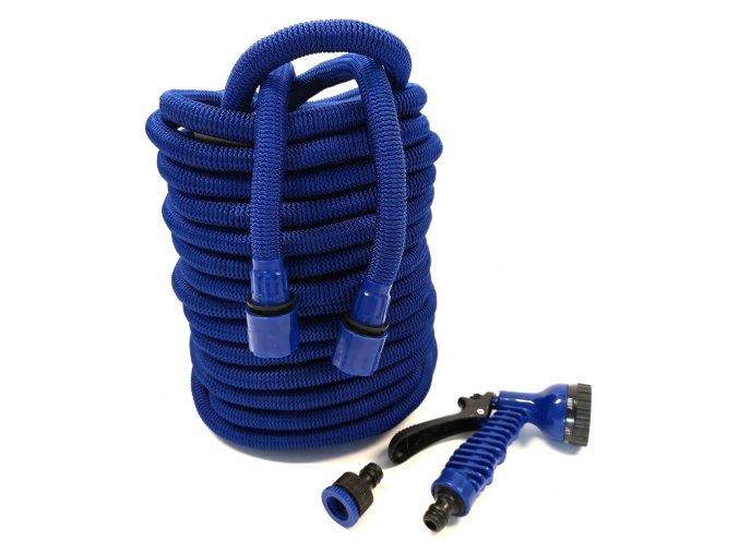 7005 smrstovaci zahradni hadice s profi plastem 15 m modra