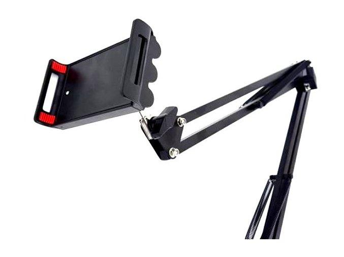 7506 3 ramenovy drzak s kloubovym drzakem pro tablet mobil nebo mikrofon